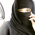 Khloe Kardashian Receives Internet Backlash for Niqab Selfie
